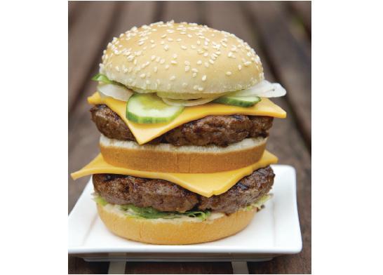 Mickey D's Burger